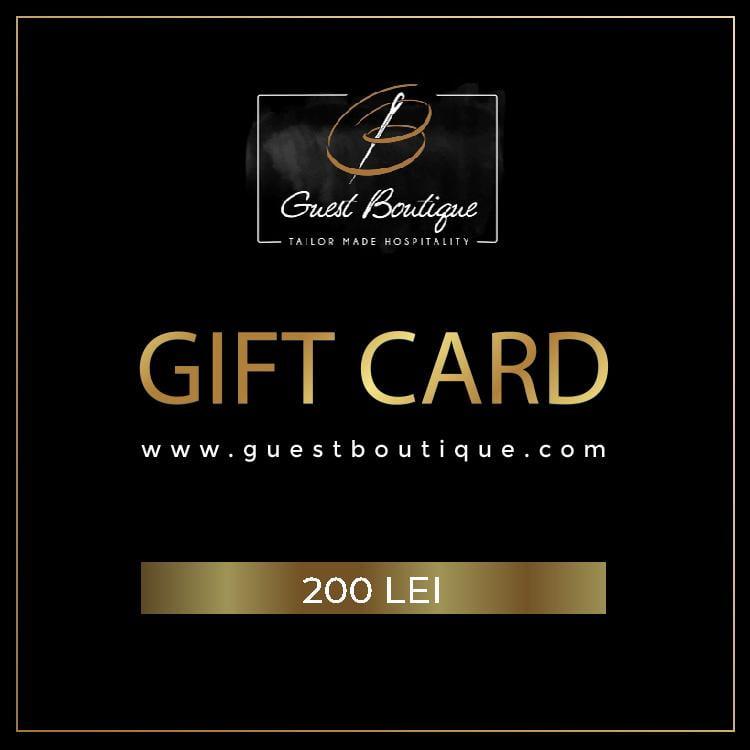 GIFT CARD - 200 LEI